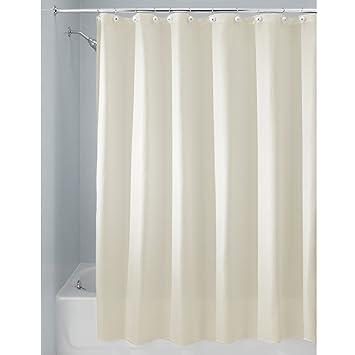 Amazon.com: InterDesign Carlton Fabric Shower Curtain, X-Long, 72 x ...