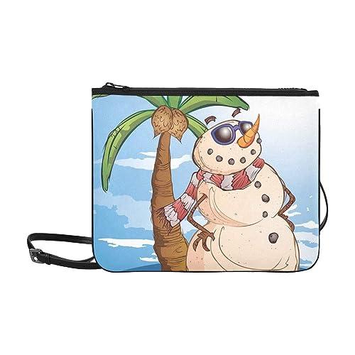 Muñeco de nieve de arena Personaje de dibujos animados Paradise Personalizado Nylon de alto grado Bolso