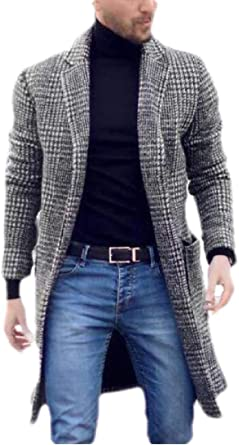 manteau laine homme amazon