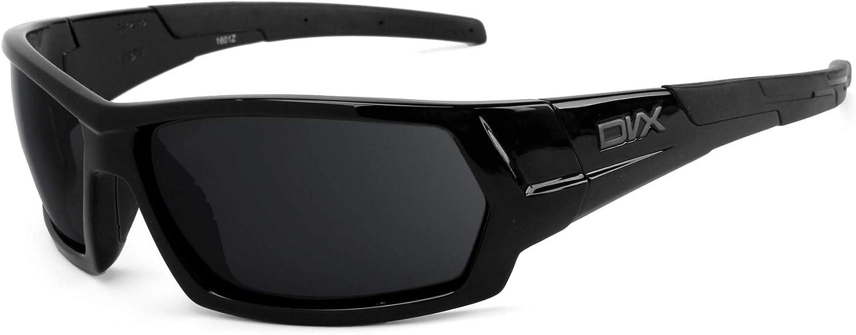 Revant Verres de Rechange pour DVX Eyewear Next - Compatibles avec les Lunettes de Soleil DVX Eyewear Next Marron Foncé - Polarisés