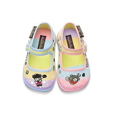 1d5e67638 Amazon.com | Hot Chocolate Design Mini Chocolaticas Ramen Girls Mary Jane  Flat | Flats