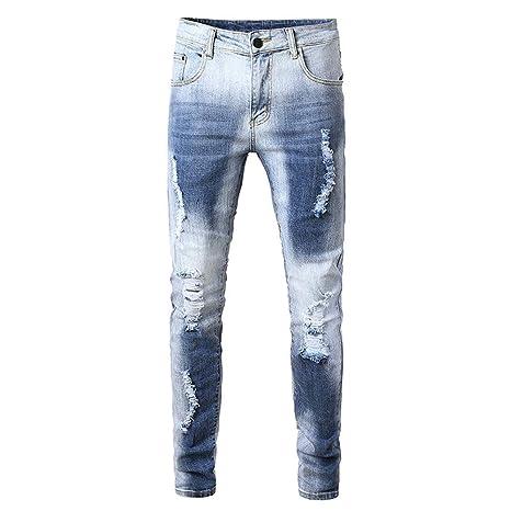 Pantalones vaqueros para hombre Pantalones vaqueros ...