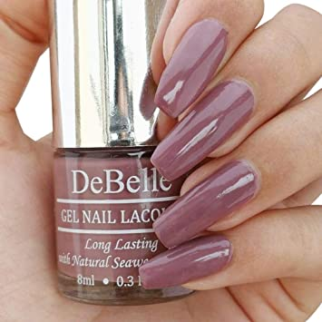 18f6efc4a32 Buy DeBelle Gel Nail Lacquer Majestique Mauve - 8 ml (Mauve Nail Polish)  Online at Low Prices in India - Amazon.in