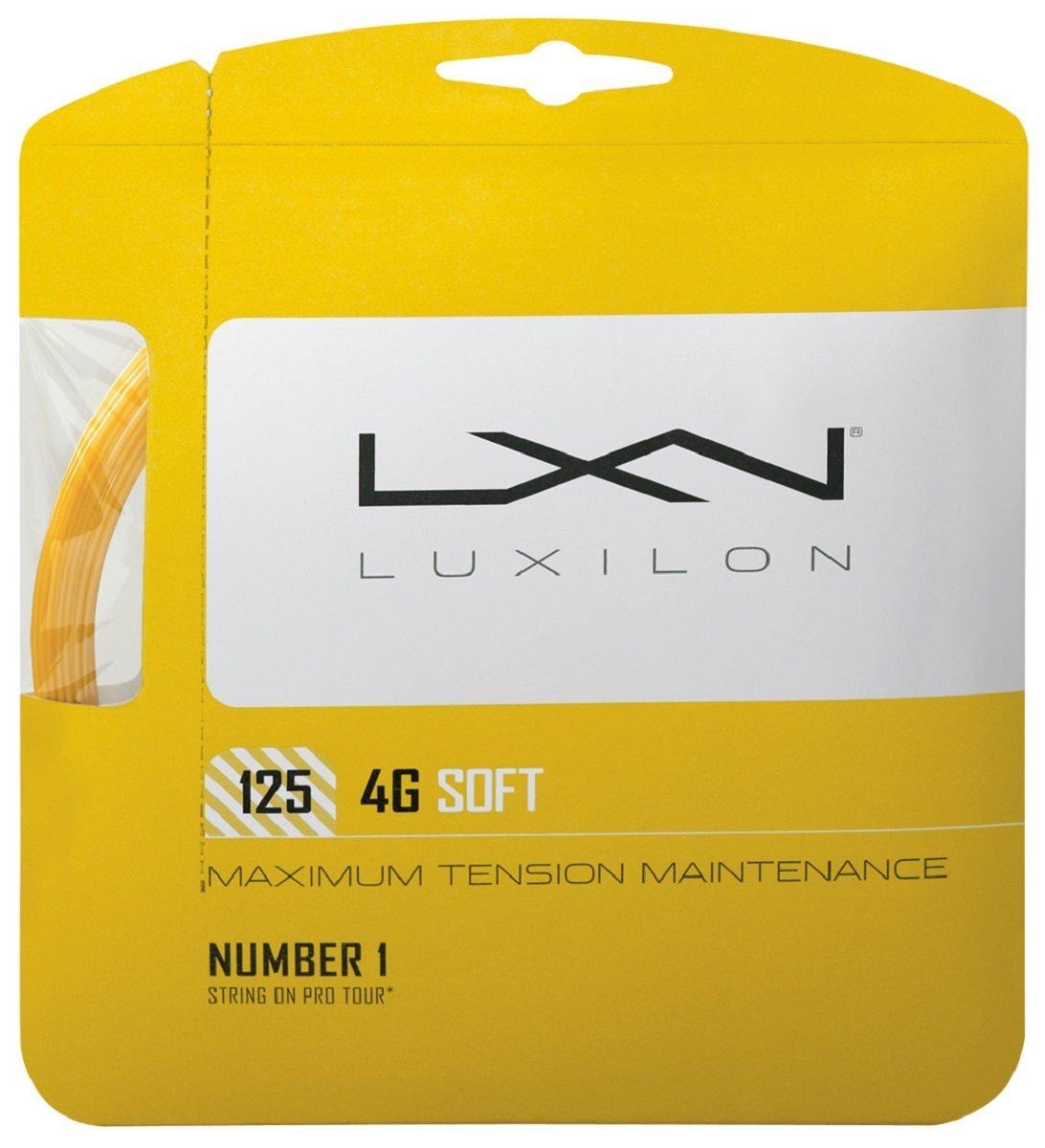 Wilson LUXILON 4G Soft 125 Tennis String Gold 16L Gauge