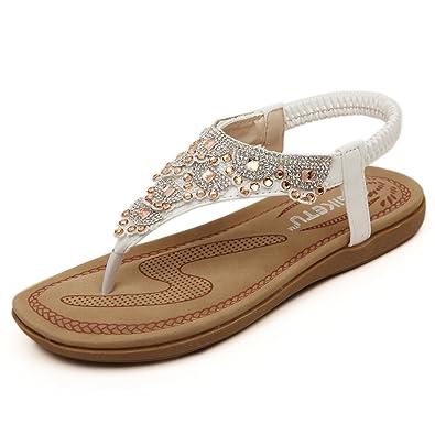cee00f03f82c80 SANMIO Women Summer Flat Sandals Shoes
