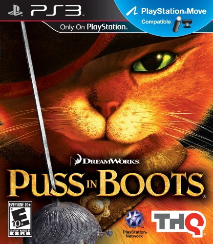 Puss in Boots: Move Compatible - PlayStation (Iii English Boot)