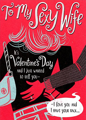 Amazon hand on back sexy wife designer greetings funny hand on back sexy wife designer greetings funny valentines day card m4hsunfo
