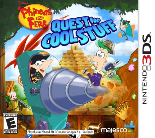 Phineas and Ferb: Quest for Cool Stuff - Nintendo 3DS by Majesco