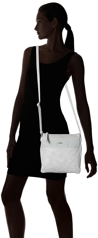 Tamaris Damen Khema Crossbody Bag M Umh/ängetasche 2.5x24x25 cm