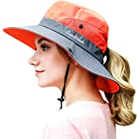 OZ SMART Wide Brim Sun Hat UPF 50 + UV Protection, Women Premium Multiple Styles Bucket Hat for Fishing, Hiking, Camping…
