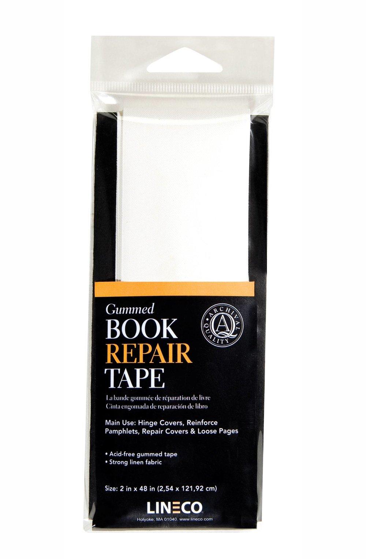 Lineco Book Repair Tape, Gummed, 2'' x 48''