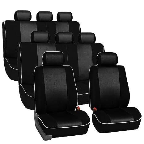 Amazon.com: FH GROUP FB0633ROW fundas de tela para asientos ...
