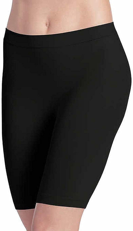 Jockey Ladies' Skimmies Slip Short Smooth Lightweight Mid-Length, 2 Pack (X-Large)Black - Light Nude at  Women's Clothing store