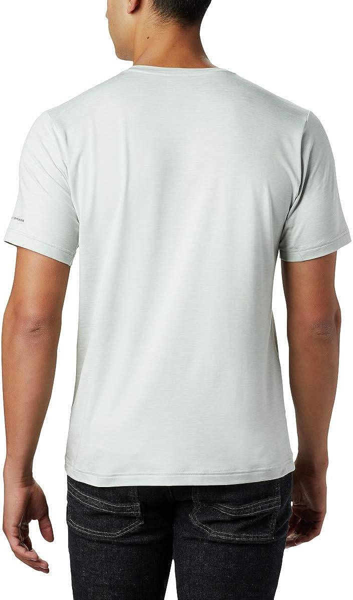 Wicking Sun Protection Columbia Mens Tech Trail Crew Neck Shirt