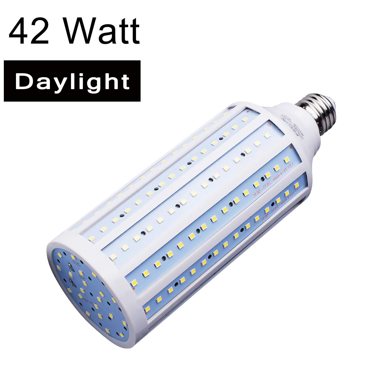 42W E26 LED Corn Light Bulb For Street Lamp Post Lighting