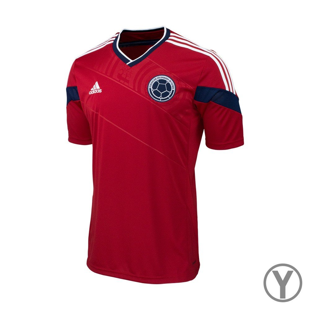 Amazon.com   adidas Kids Soccer Colombia Away Jersey (World Cup 2014)  (Small)   Sports   Outdoors 82c10e7b3