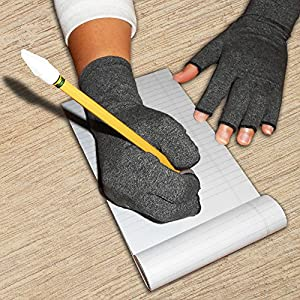 Rehabilitation Advantage Large Pair Arthritis Compression Gloves