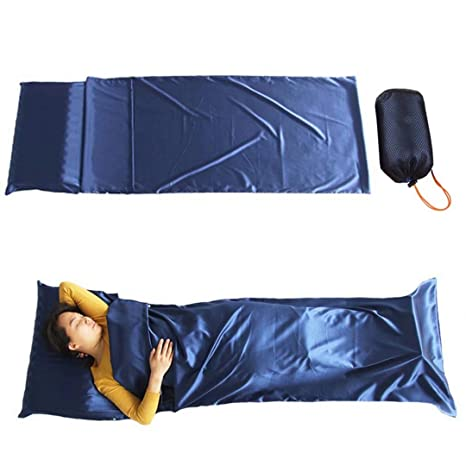 Qbuds - Saco de Dormir Ultraligero para Acampada (82 x 28 ...