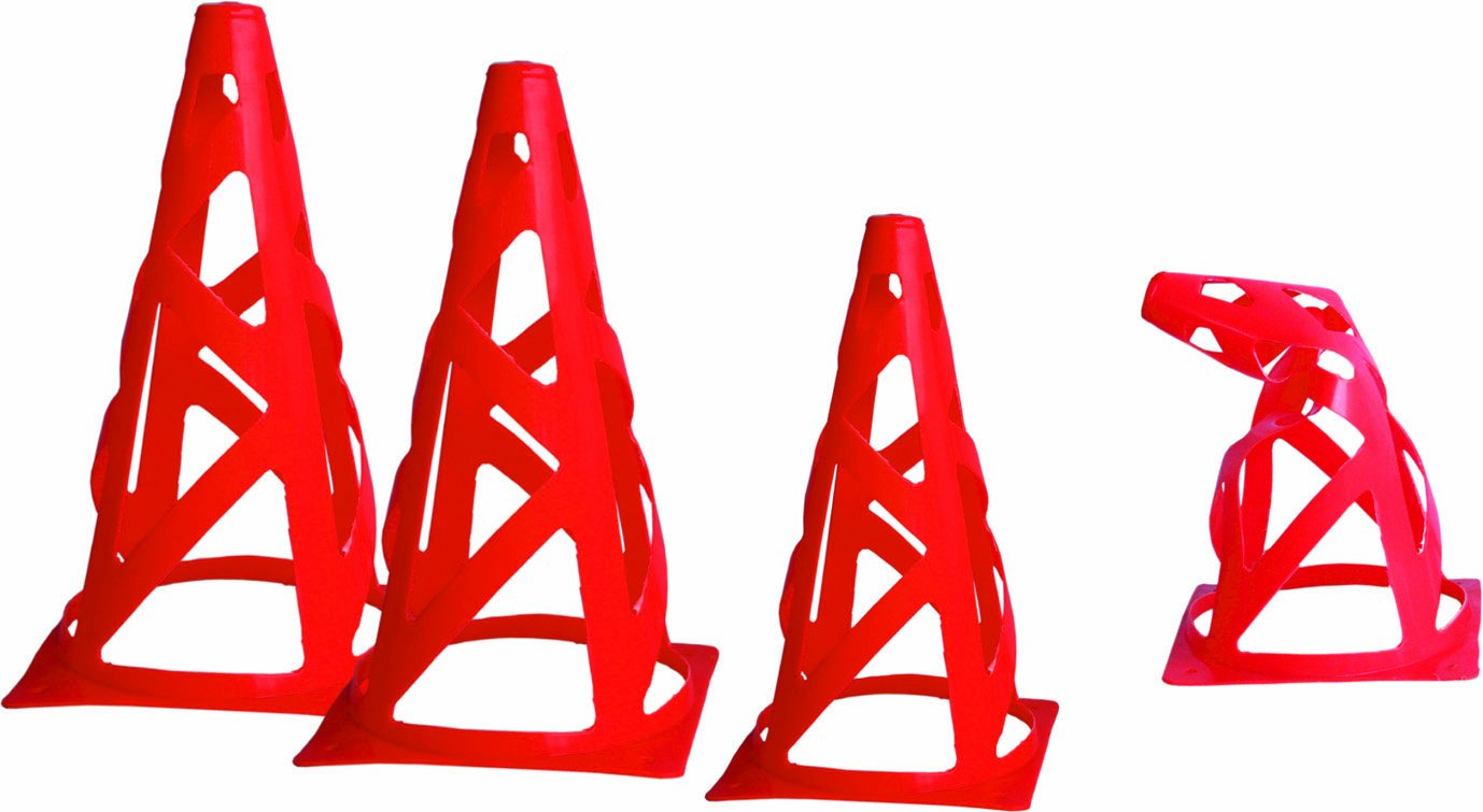 Set of 10 Soccer Training Cones CZ-73 Cintz 9 Field Marker Cones