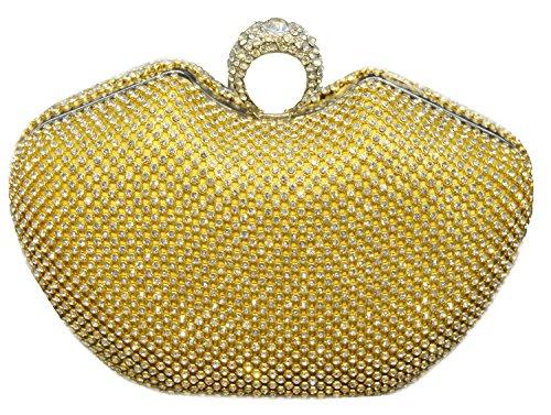 Oro Set Coclea Signora a3309 Dinner Elegante Bag Borsa Sposa Borsa Mini Sexyher Peacock TqZ6U