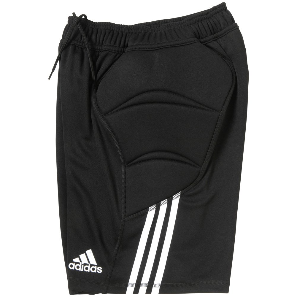Adidas Boys' Climalite Tierro 13 Goalkeeper Shorts - YM - Black by adidas