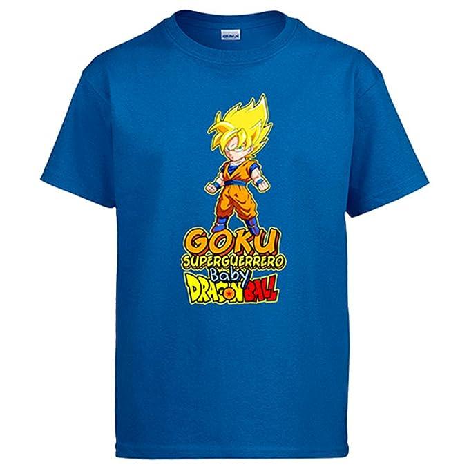 Diver Camisetas Camiseta Goku Rubio superguerrero Baby Dragon Ball: Amazon.es: Ropa y accesorios