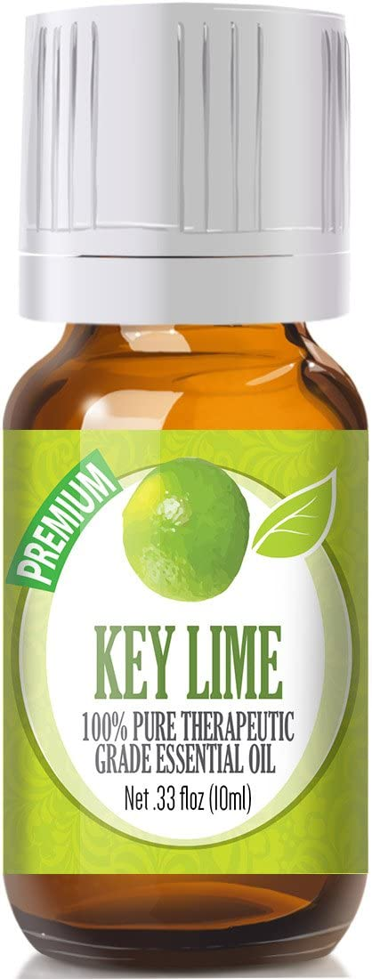 Key Lime Essential Oil - 100% Pure Therapeutic Grade Key Lime Oil - 10ml