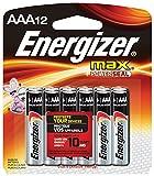 Energizer Max Alkaline AAA Batteries, 12 Count