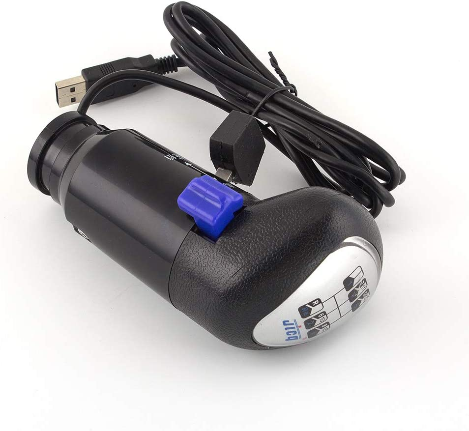 Aikeec Pommeau de levier de vitesse USB pour jeux ATS et ETS2 pour Logitech G29 G27 G25 G920 H