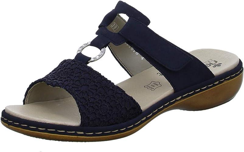 Rieker Damen 65943 Pantoletten: : Schuhe & Handtaschen