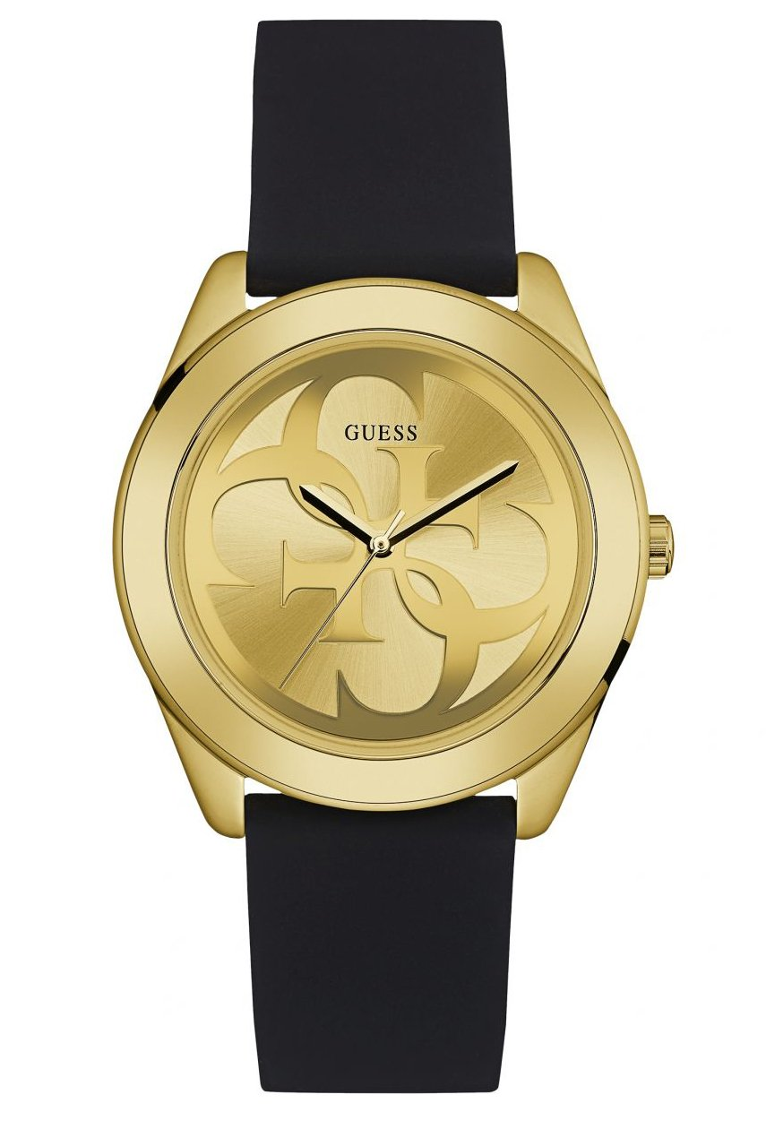 CDM product Guess G Twist Gold Dial Silicone Strap Ladies Watch W0911L3 big image