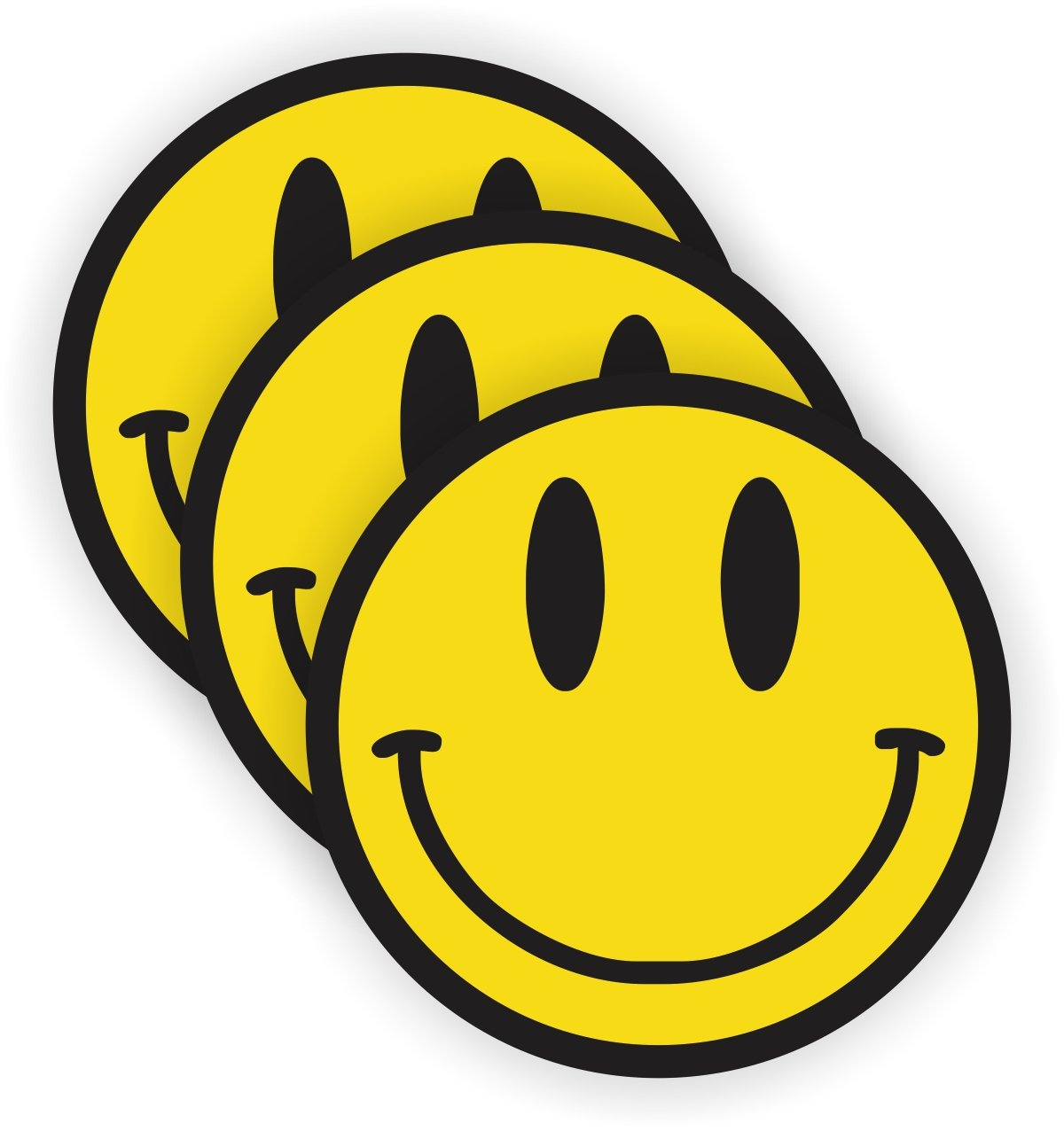 Smiley Face Hard Hat Sticker | Helmet Decal | Label Lunch Tool Box Motorcycle Hippie Woodstock JAY Graphics