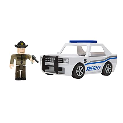 b86a830e618 Amazon.com: Roblox Neighborhood of Robloxia Patrol Car: Toys & Games