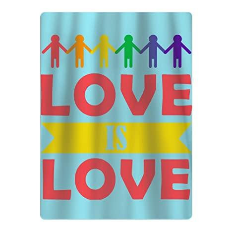 Amor Es Amor Orgullo Gay lesbiana adolescente deportes Yoga funda de viaje de baño toallas de ...