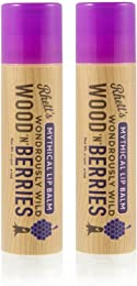 Rhett's Wondrously Wild Wood N Berries Mythical Lip Balm - Clear Round Tube - 2 Pack of 0.15 fl oz balms - Created by YouTube celebrities Rhett and Link from Good Mythical Morning