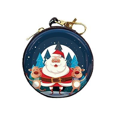 Amazon.com: Diaper - Monedero para mujer, diseño de Navidad ...