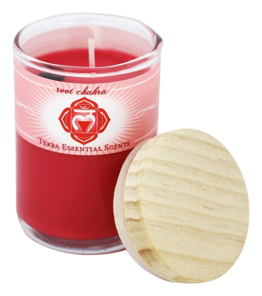 Terra Essential Scents - Root Chakra Soy Candle - 2.5 oz.