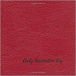 daily medication log undated personal medication checklist