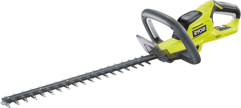 Ryobi OHT1845 - Cortasetos (18 V, longitud de la cuchilla 45 cm, grosor de corte 18 mm, con funda, sin batería ni cargador)