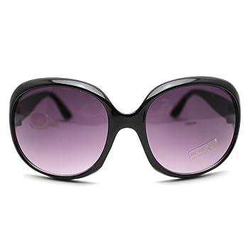 huayang ladys vintage big frame sunglasses goggles shades eyeglassblack