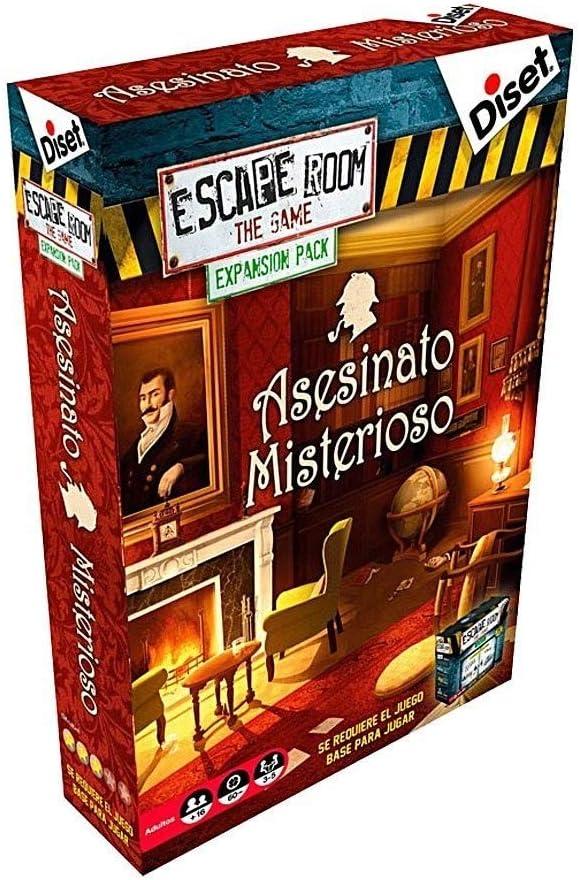 Diset - Escape Room expansión Asesinato Misterioso: Amazon.es ...