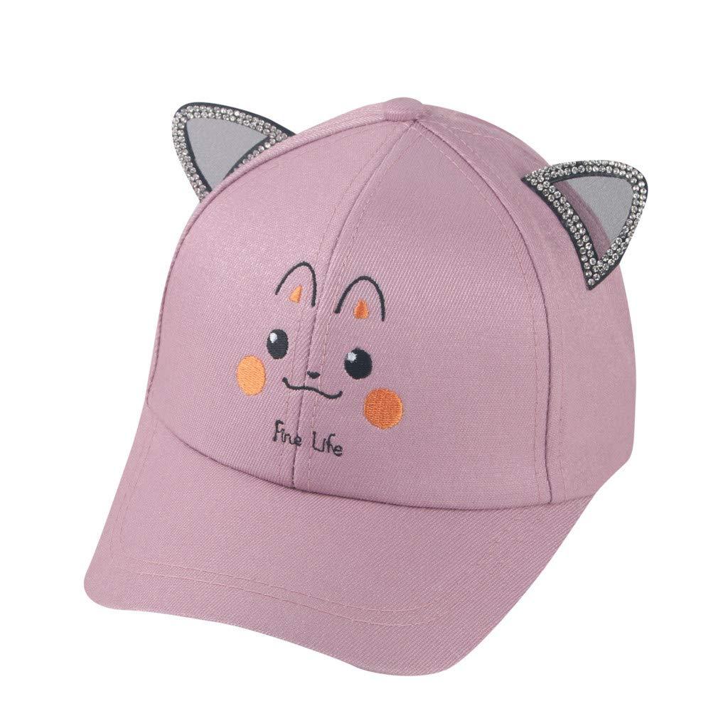 UCQueen Toddler Baby Cap Infant Kids Sun Hat Cute Cartoon Caps Spring Summer Baseball Cap
