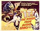 It! The Terror From Beyond Space 1958 Movie Poster Masterprint (14 x 11)