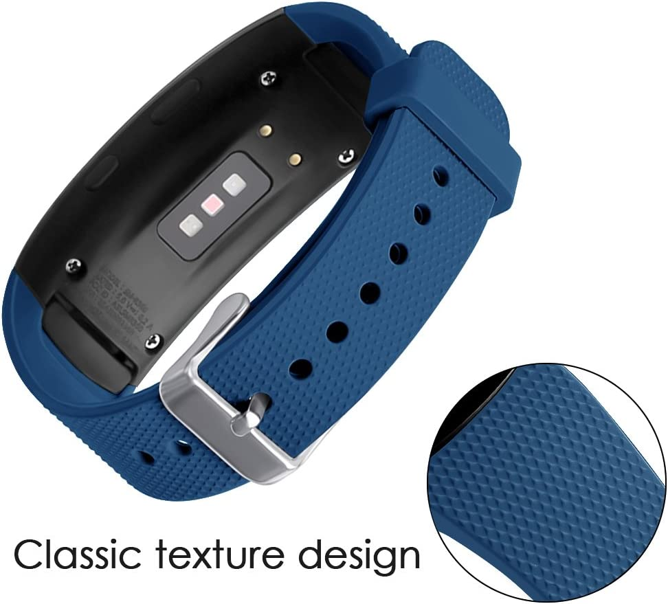 Malla Reloj Samsung Gear Fit2 Pro Sm-r365/fit2 Sm-r360 azul