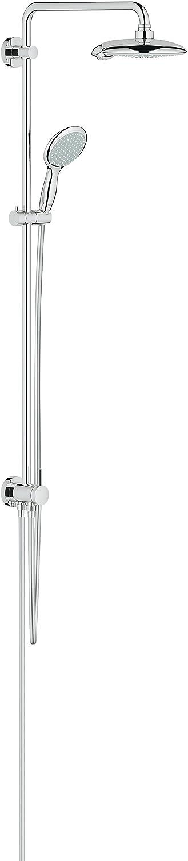 Grohe 27911000 Euphoria System - Sistema de ducha, 190 mm: Amazon ...