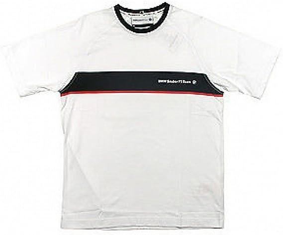 Formula One 1 F1 BMW Sauber equipo – Camiseta de manga corta para hombre, hombre, blanco, medium: Amazon.es: Deportes y aire libre