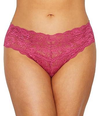 68f71dc0658 Amazon.com  Cosabella Women s Plus Size Say Never Extended Cutie ...