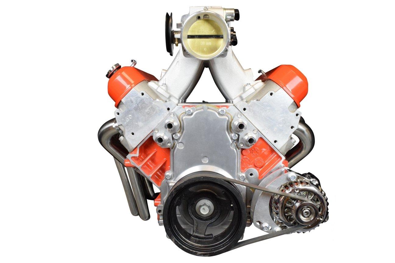 LS Truck Alternator Only Bracket Low Mount LSX Electric Water Pump LS Billet 551512-3 ICT Billet