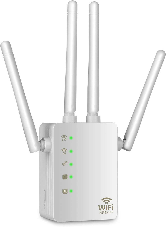 Wodgreat Repetidor WiFi Amplificador WiFi, Amplificador de ...