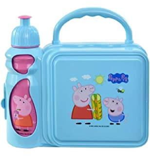 UPD Peppa Pig Combo Lunch Box with Water Bottle